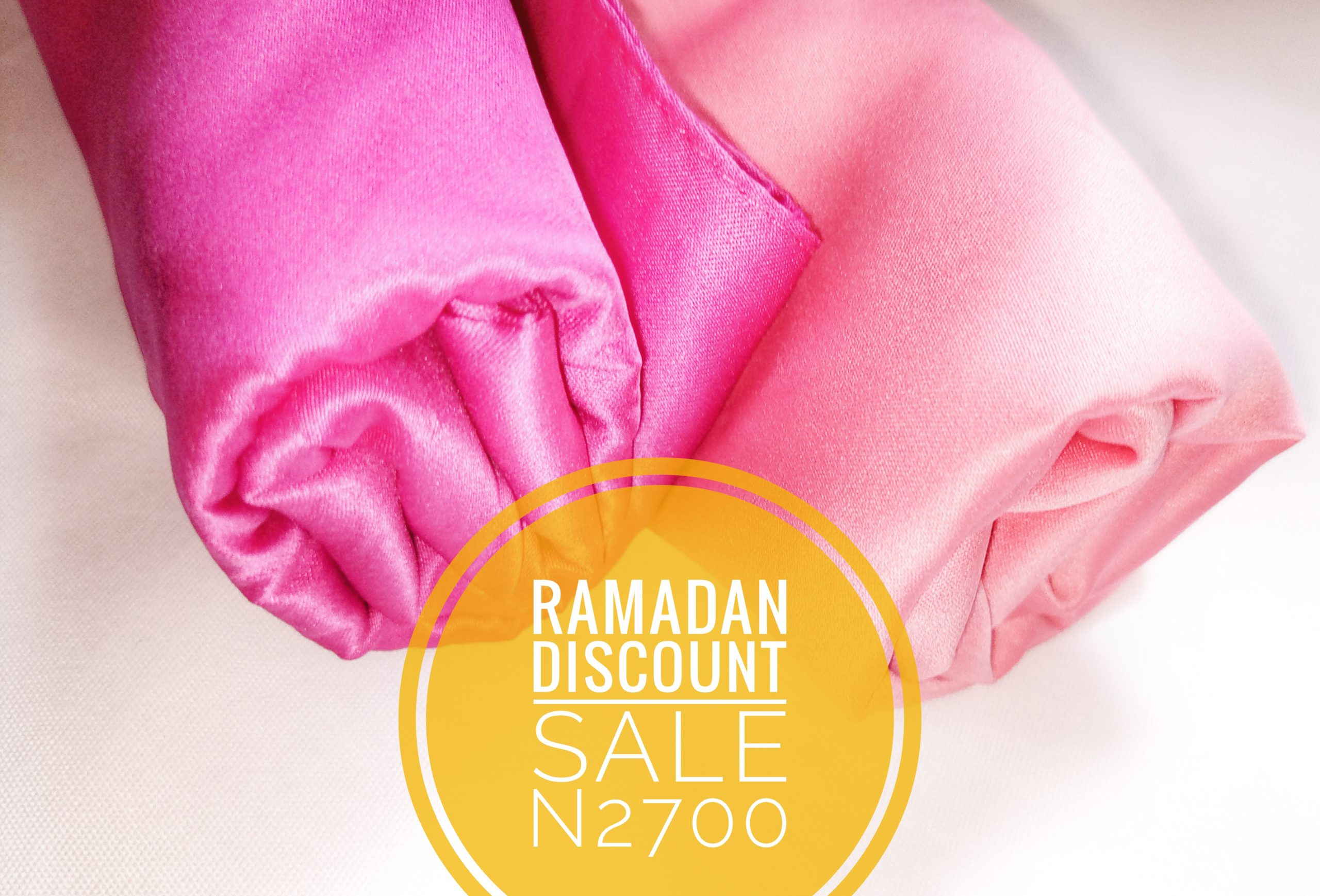 Smooth Matt-Colour Satin Hijab