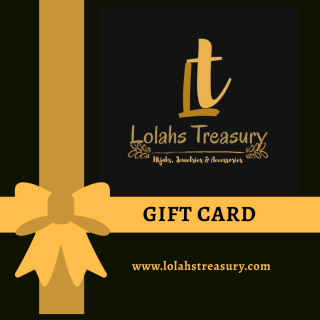 lolahs treasury gift card