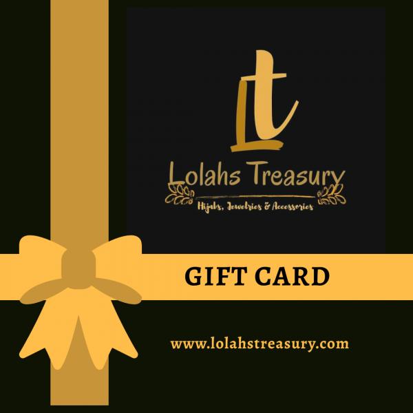 lolahs treasury gift card